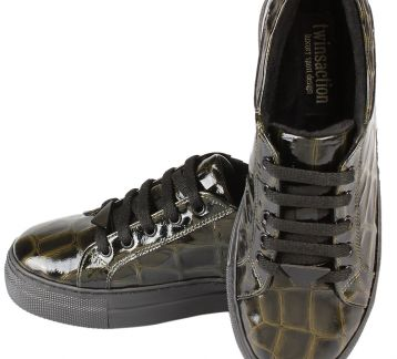 SNEAKERS Croco Deri
