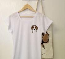 BEAGLE by Mü DESIGN - Bayan Tshirt