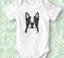 BOSTON TERRIER Zıbın by Mü DESIGN