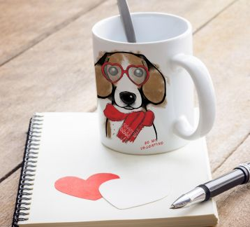 Be my Valentine Beagle