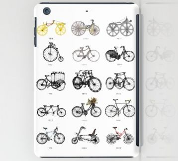 BIKES by Mü DESIGN - IPAD MINI KORUYUCU