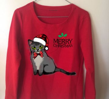 MERRY CHRISTMAS ASIAN Kadın Sweatshirt