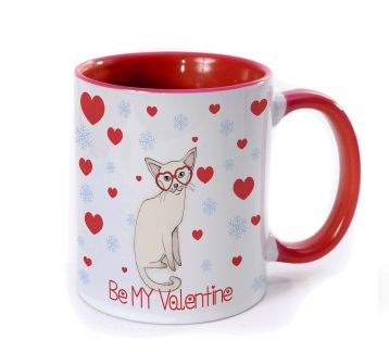 Be My Valentine White Foreign Kupa