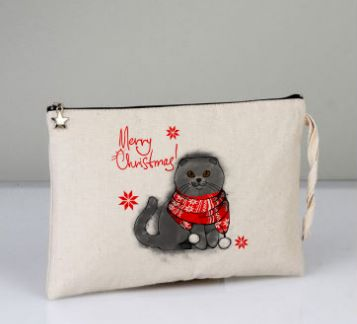 Kış Kedisi Scottishfold Clutch
