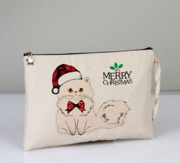 Merry Christmas İran Kedisi Clutch