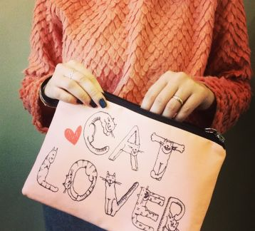 Cat Lover Clutch