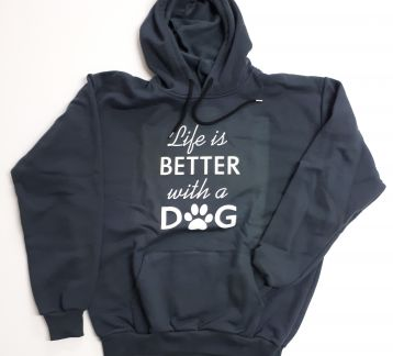 Life is Better with a DOG Unisex Sweatshirt(9 renk)