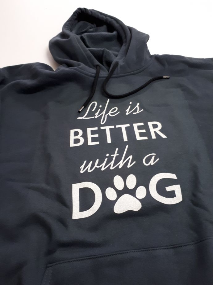 Life is Better with a DOG Sweatshirt(9 renk)