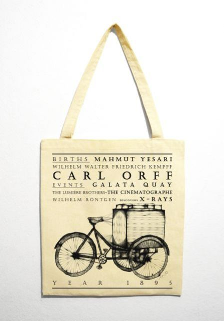 "Bicycle "" Year 1895"" Bez Çanta"