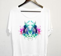 Abstract Asimetrik Tshirt