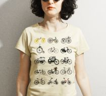 Evolution of Bicycles / Bayan Tshirt
