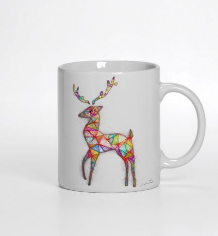 Christmas Deer Kupa