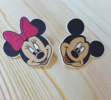 MICKEY VE MINNIE BROŞ SETİ