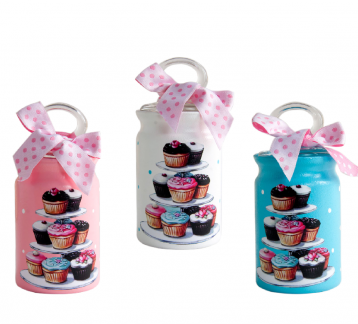 Cupcake Standlı Mini Set