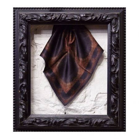 Rose Gold II Silk Scarf