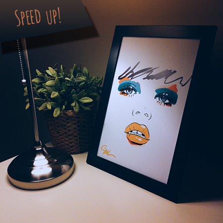 Speed Up - Poster (30cm x 42cm)
