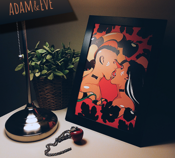 Adam And Eve - Poster (30cm x 42cm)