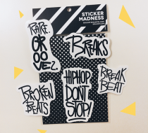 Groove Pack (Sticker Pack)