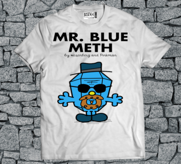 Mr.Blue Meth tshirt