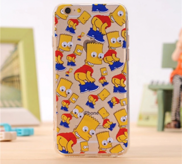 Iphone 7 Bart Simpson Case
