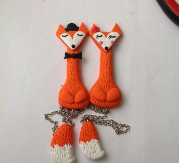 Mr and Mrs. Fox Kitap Ayracı