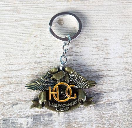 King of the Road Motor Cycles Owners Group TasarımAnahtarlık