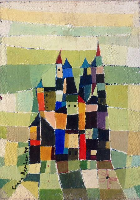Green Castle by Canan Berber