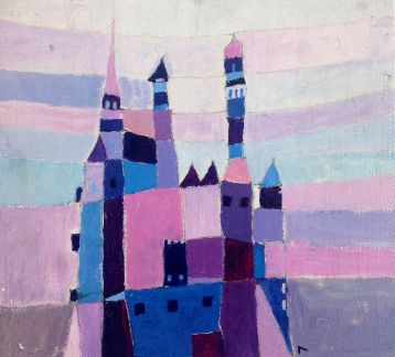 Purple Castle by Canan Berber