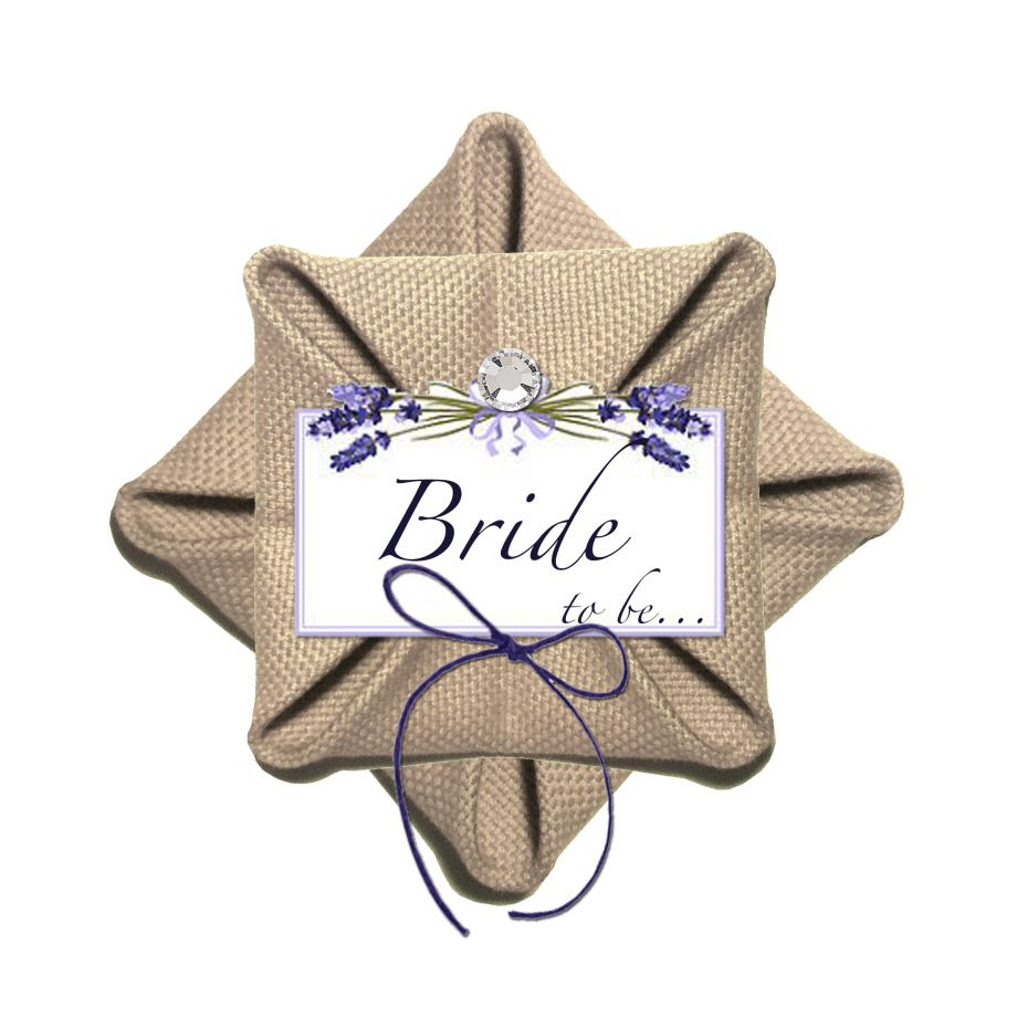 Lavender Bride To Be Broş - Bileklik