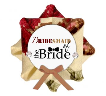 8 Adet Bridesmaid of The Bride Broş - Bileklik