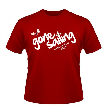 Vira GONE SAILING - Ibiza'14 Anı T-shirt