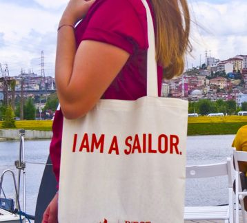 I AM A SAILOR - Bez Çanta