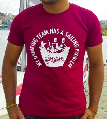 """My Drinking Team Has A Sailing Problem"" T-shirt"