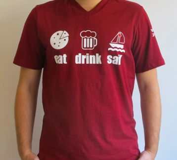 """Eat & Drink & Sail"" T-shirt"