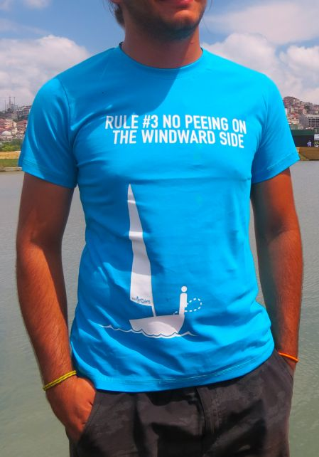 """Rule #3 """"No Peeing On The Windard Side"""" T-shirt"""