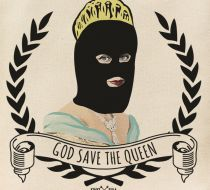 Kinky Pera God Save The Queen Bez Çanta Tote Bag