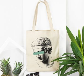 Kinky Pera All Eyez On Me Bez Çanta Tote Bag