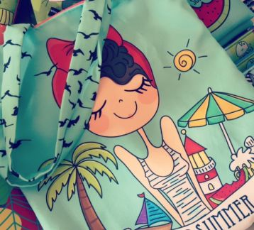 I love summer holiday bag