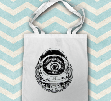 The Observer Tote Bag