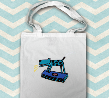 İstanblues Tote Bag