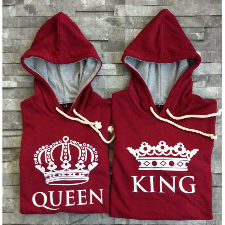 Queen King Sweatshirts