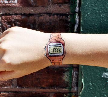 Tattly Geçici Dövme You're Late (Orange) 0031WS