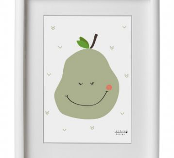 'Pear' Poster