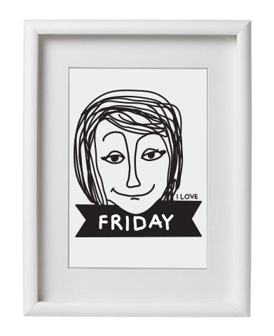 'I Love Friday' Poster