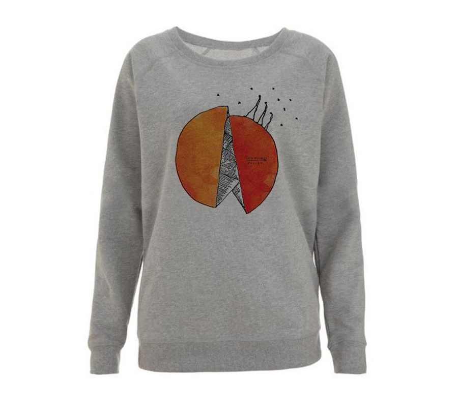 'Walking' unisex sweatshirt