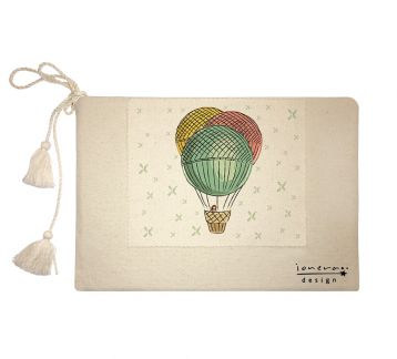 'Balloon' clutch çanta