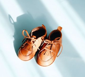 Leather Baby Shoes / Deri Bebek Patiği