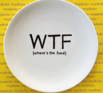 WTF - where is the food