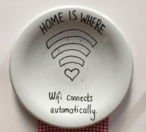 Wi-Fi home is where wifi