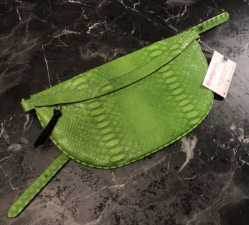 Vegan deri  Moon Bag Bel & Cross body çanta